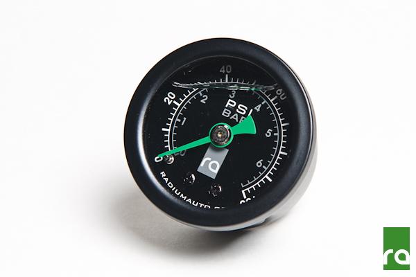 Radium 100 PSI Fuel Pressure Gauge