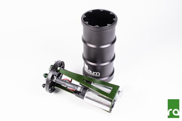 Radium Fuel Surge Tank (for Dual Aem 50-1200 E85 Pumps)