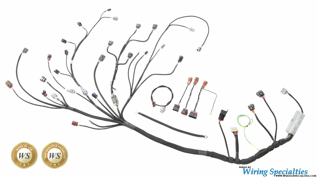 Wiring Specialties RB25DET Silvia S14 Wiring Harness on