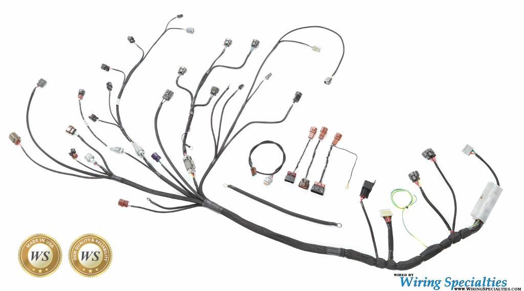 wiring specialties 2jzgte 200sx wiring harness  u2013 je import