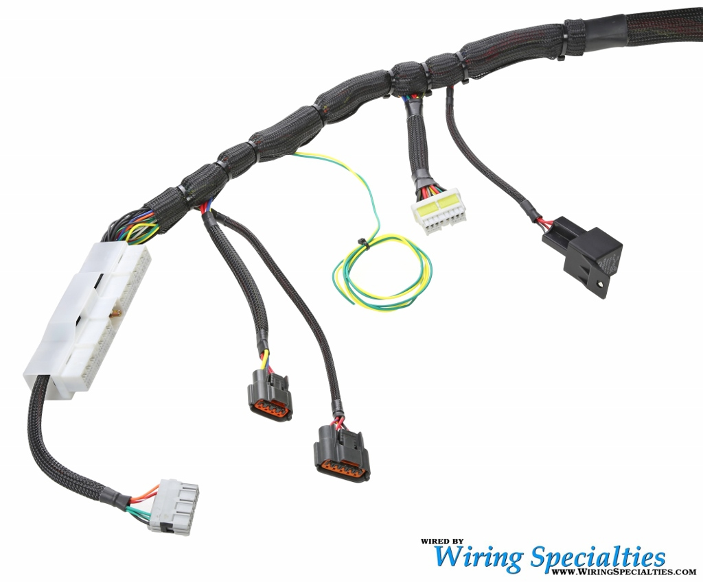 wiring specialties s14 sr20det roadster wiring harness rh jeimportperformance com e30 sr20 wiring harness Wiring Harness Connectors