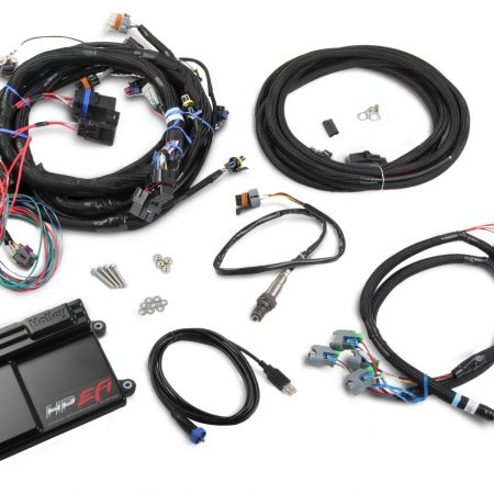 Holley EFI - LS2/LS3/LS7 (58x Crank Sensor) with USCAR EV6 (Oval Type) Injector Connectors - Bosch Sensor