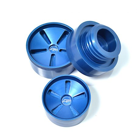 Agency Power Aluminum Oil Cap and Fluid Reservoirs Cap Kit Scion FR-S | Subaru BR-Z | Toyota GT-86 13+