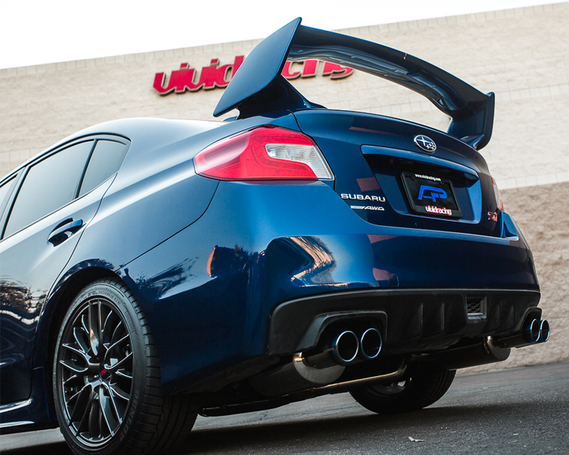 Wrx Performance Parts >> Agency Power Catback Exhaust System Titanium Quad Tips ...