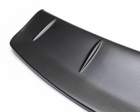 Agency Power Matte Carbon Fiber OEM Spoiler Blade Add On Gurney Flap Nissan R35 GTR 09-15
