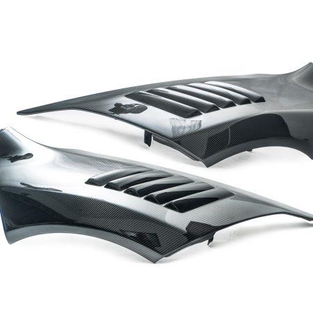Agency Power Carbon Fiber Vented Fenders McLaren 12c 12-14