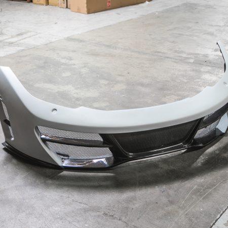 Agency Power Front Carbon Fiber Bumper McLaren MP4-12C 12-14