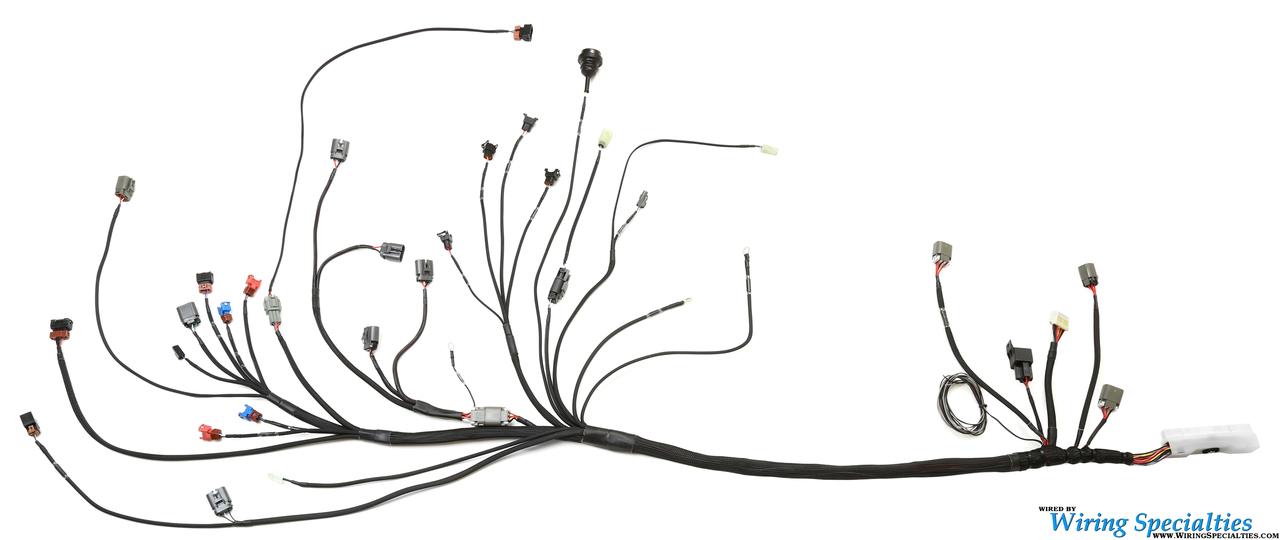 wiring specialties 180sx ca18det wiring harness oem replacement rh jeimportperformance com Wiring Specialties SR20DET Wiring Diagram for Sr20 Swap