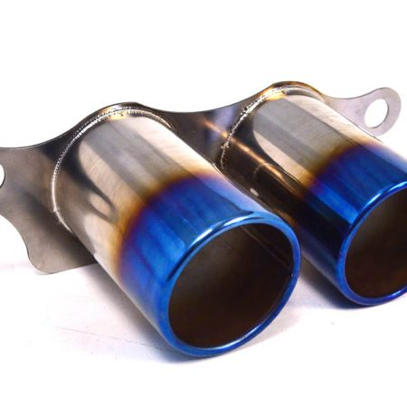 Agency Power Titanium Exhaust Burnt Tips Porsche 991 GT3 GT3RS 14-16