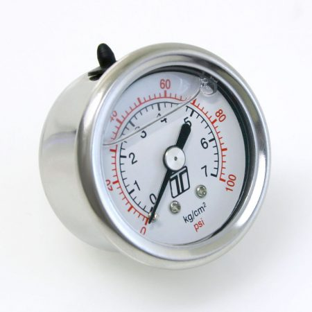 Turbosmart FPR Gauge 0-100psi Liquid Fill