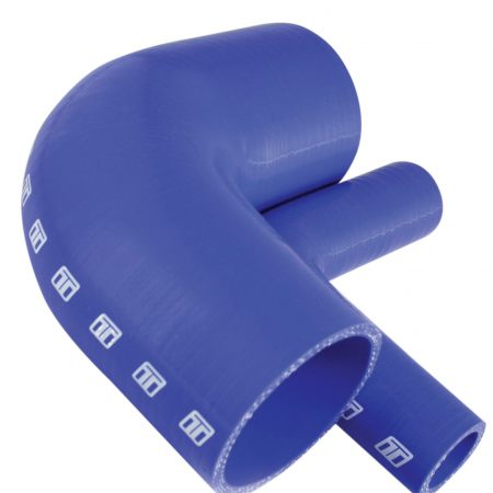 "Turbosmart 90 Silicone Elbow 3.00"" Blue"
