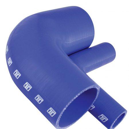 "Turbosmart 90 Silicone Elbow 1.75"" Blue"
