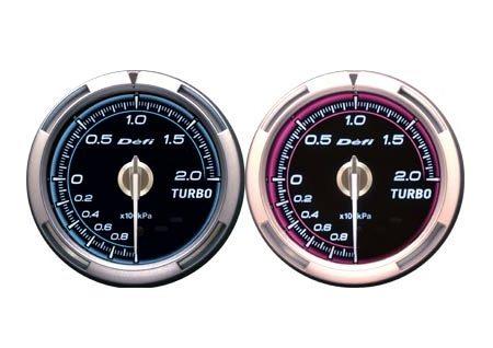 Defi Advance C2 Series 60mm turbo 200kpa gauge - pink