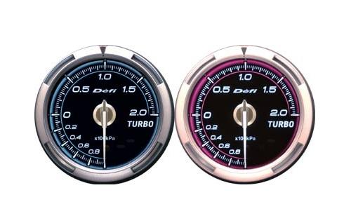 Defi Advance C2 Series 60mm manifold press gauge - blue