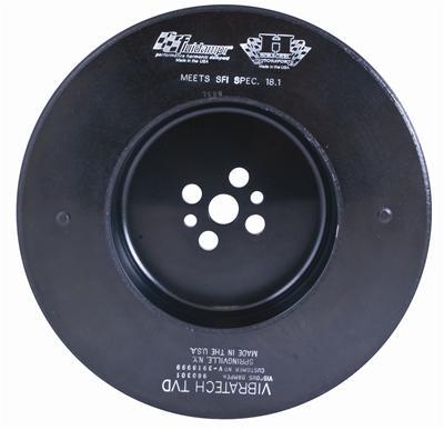 "Fluidampr Harmonic Balancer - Chevrolet 396-427 CID V-8 w/ (2) 1/4"" key slot"
