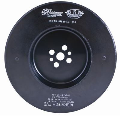 Fluidampr Harmonic Balancer - Ford Small Block 3 Bolt SVO