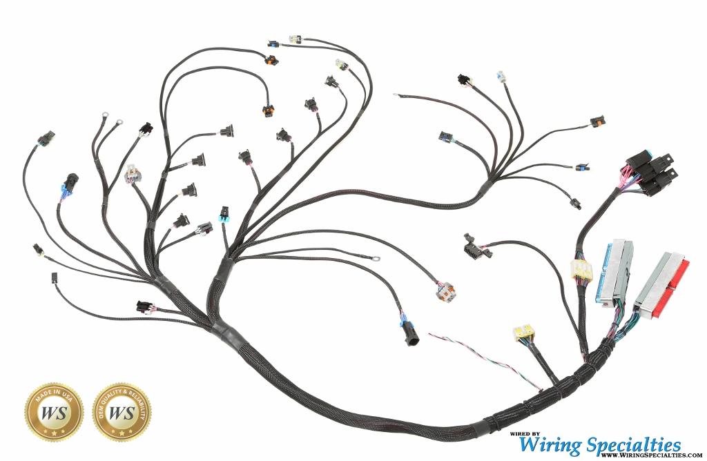 ls1 wiring harness 3 wiring specialties ls1 e36 wiring harness