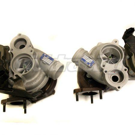 Agency Power Upgraded VTG Turbos 700HP Porsche 997 Turbo 07-09