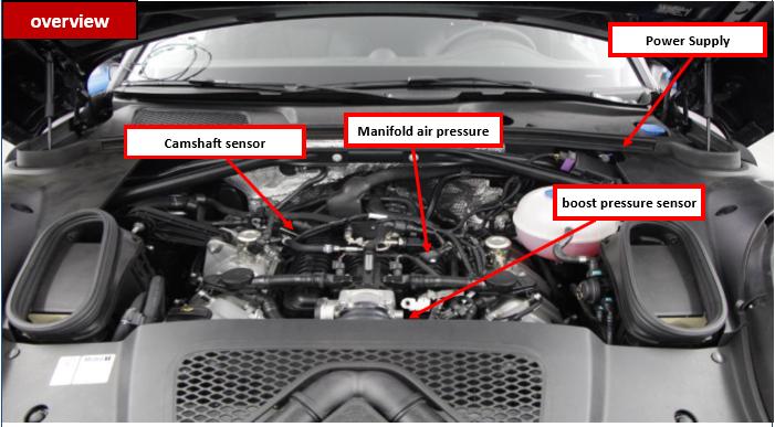 Ap Tuned Ecu Tuning Box Kit Porsche Panamera S 3 0l Turbo