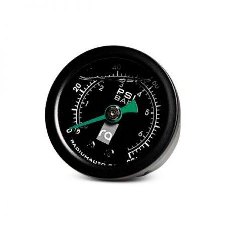 Radium 100 PSI Fuel Pressure Gauge - 8AN Adapter