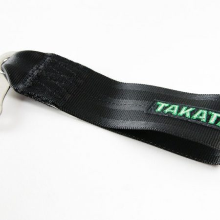 Takata Black Tow Strap with Hardware