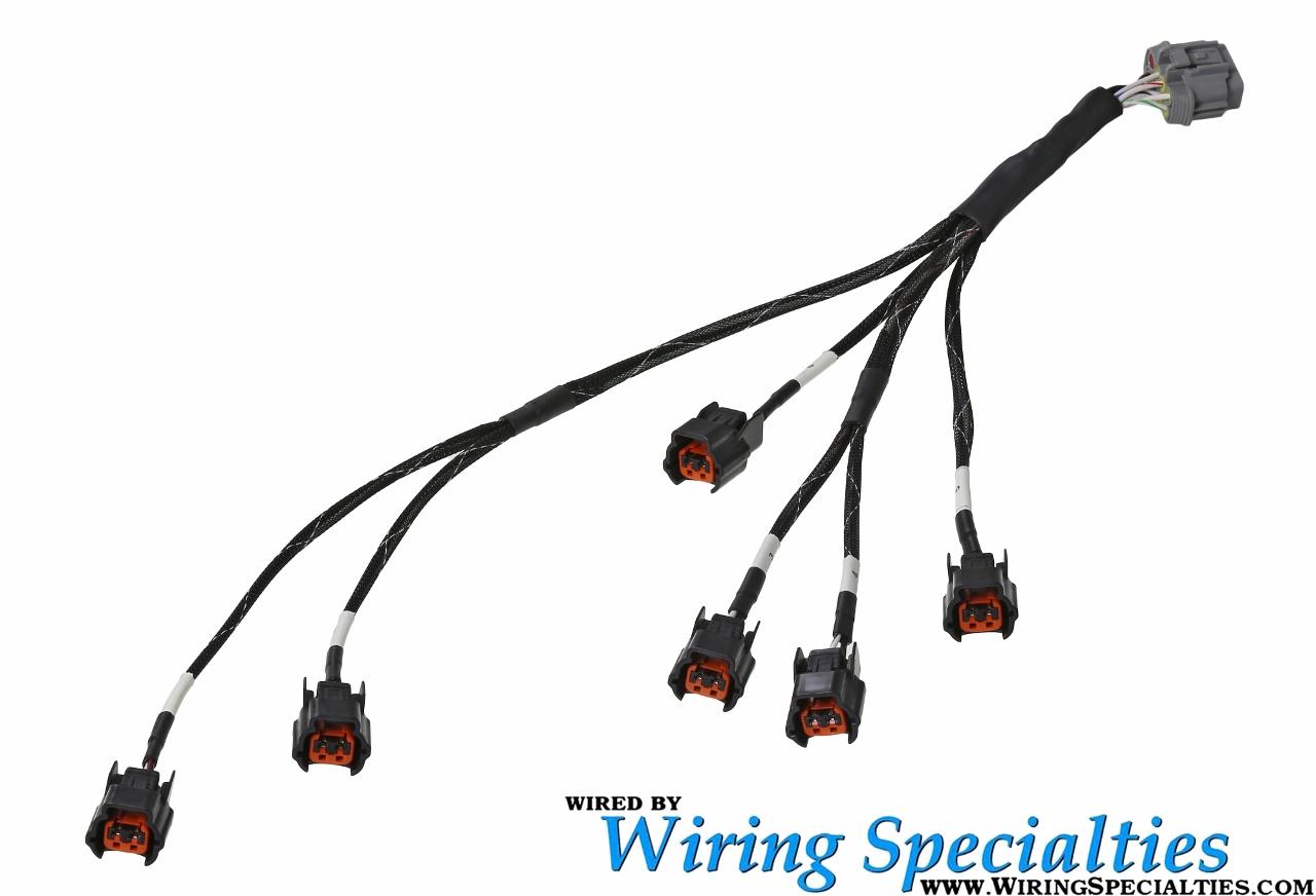 wiring specialties z32 vg30de(tt) new style injector sub-harness (oval w