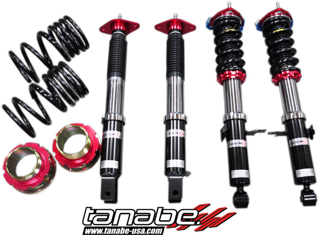 Tanabe Sustec Pro Z40 Coilovers - Nissan 370Z  (2009-2012)