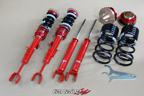 Tanabe Sustec Pro Comfort R Coilovers - Infiniti G35 (2003-2007)