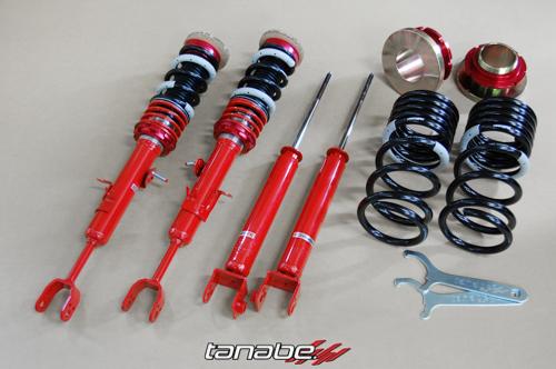 Tanabe Sustec Pro Comfort R Coilovers - Infiniti G35 (2003-2007)