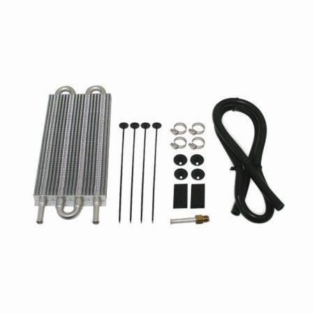 Mishimoto Jeep Wrangler JK Transmission Cooler Kit, Black