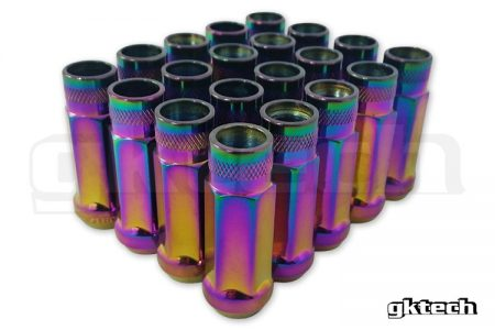 GK Tech Open Ended Lug Nuts, M12 x 1.25