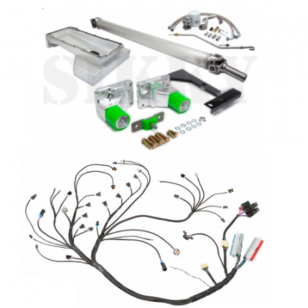 Sikky Nissan 240sx S14 LS1 Swap Kit - Stage 3 (wiring included)