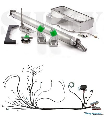 Sikky Nissan 350Z LS1 Swap Kit- Stage 3 (wiring included)