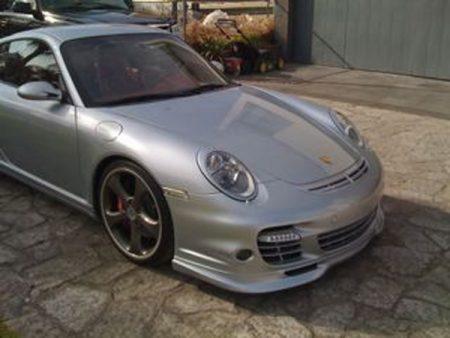 Agency Power Carbon Fiber Hood Grill Duct Porsche 997.1 Carrera | Turbo 05-09