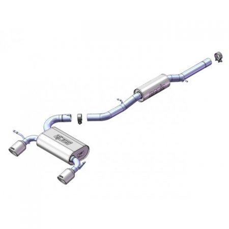 "Borla Dodge Ram Cat-Back™ System - 3"", 2.25"""