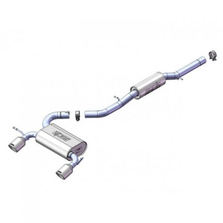 "Borla Chevrolet Impala Cat-Back™ System (H-Pipe) - 2.25"", 2"""