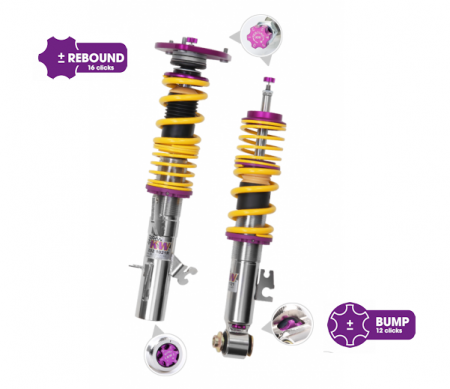 KW Clubsport 2 Way Coilovers - BMW 2 Series F22 Coupe 2WD w/ EDC