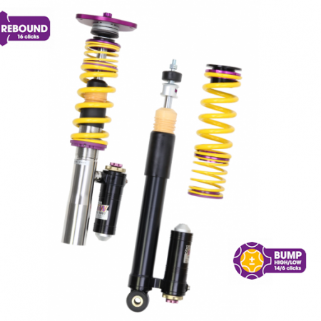 KW Clubsport 3 Way Coilovers - Dodge Viper (ZB) SRT-10 w/ rear fork mounts