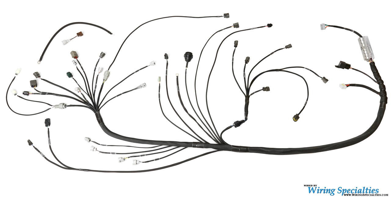 wiring specialties rb25 neo wiring harness set for s14 240sx