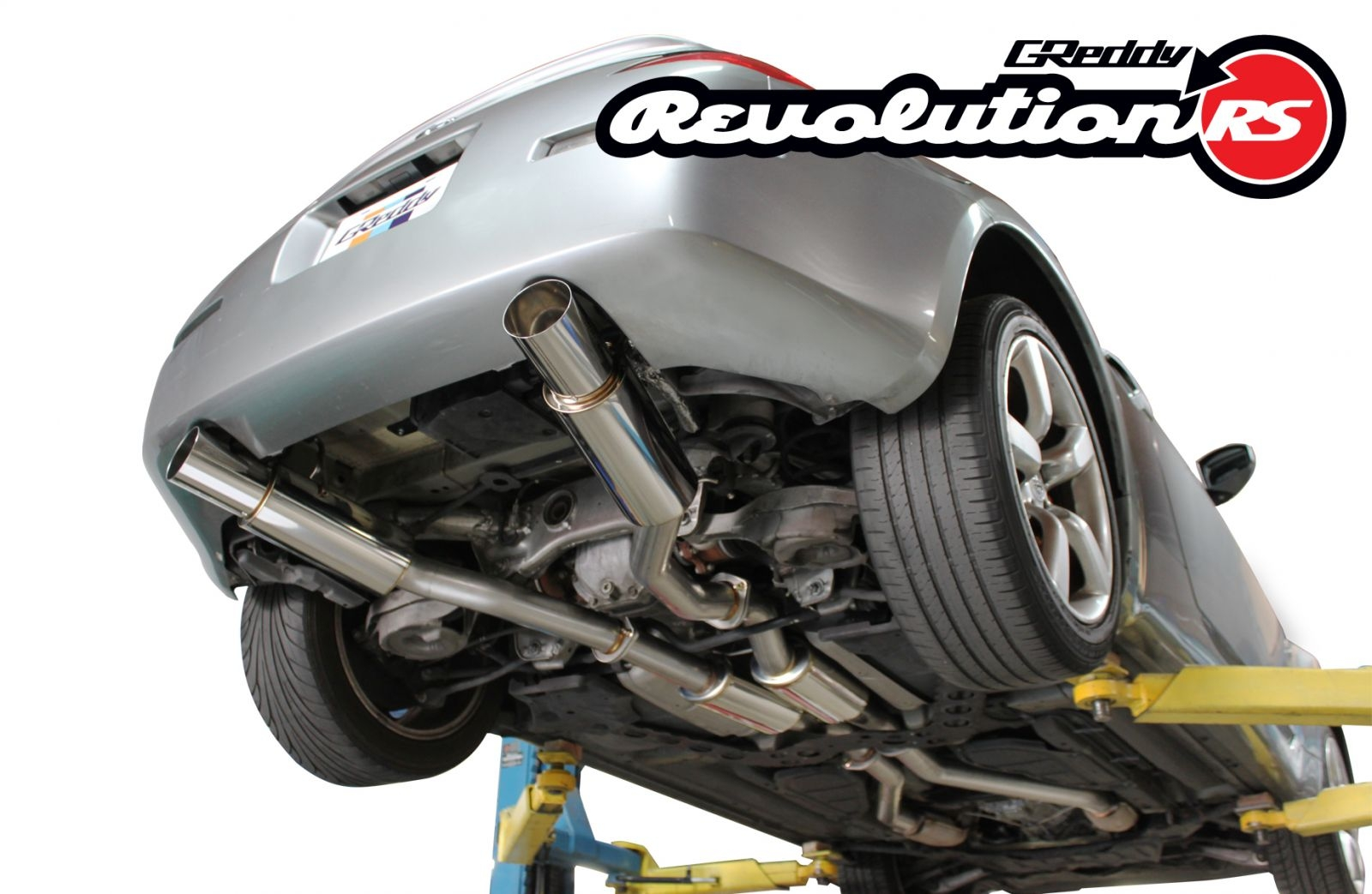 greddy revolution exhaust nissan 350z – je import performance