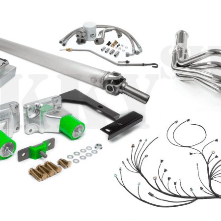 Sikky Stage 2 Nissan 350Z LSx Swap Kit w/ Headers – JE Import