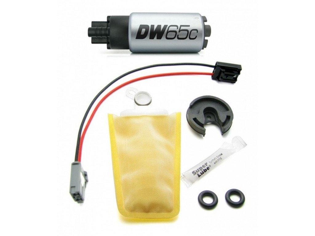 DeatschWerks 265 LPH Compact In-Tank Fuel Pump 08-15 Mitsu EVO X MazdaSpeed