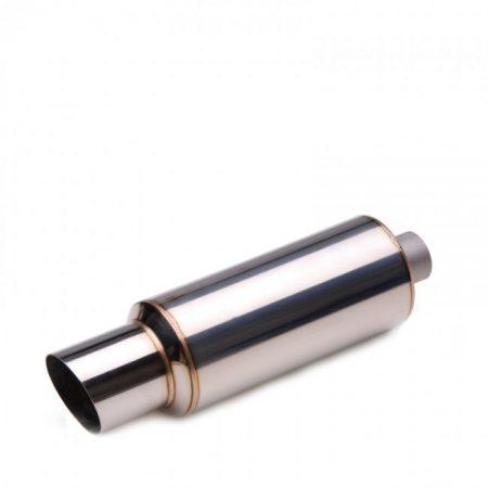 """Skunk2 Universal Exhaust Muffler J-Spec (3.00"""" / 76mm Inlet)"""