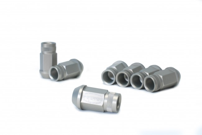 Skunk2 12 X 1.5 Forged Lug Nut Set - 4 Lug Set Black Series