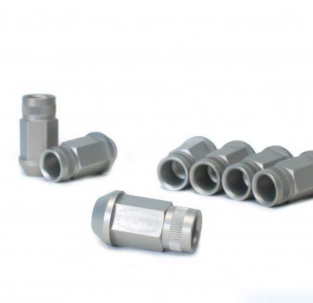 Skunk2 12 X 1.5 Forged Lug Nut Set - 5Lug Set Black Series