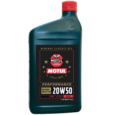 Motul Classic Performance Oil 20W50