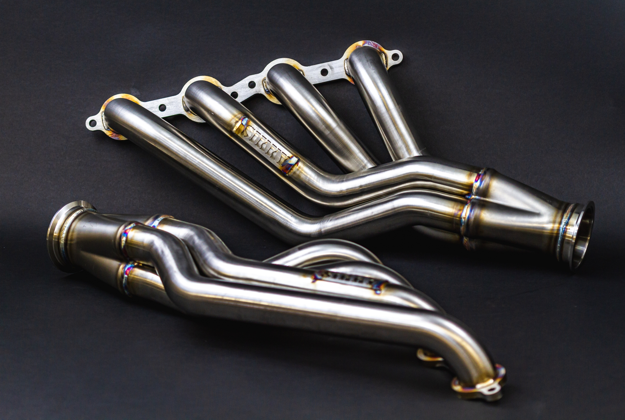Sikky Nissan 350Z LS Swap Headers - Stainless Steel Pro Series
